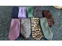 Joblot of Men's Ties x9 -can post for extra-
