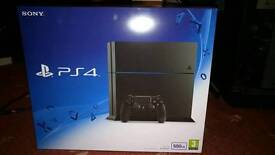 New and Sealed 500GB PS4 (C chassis) + Sealed Killzone Shadowfall