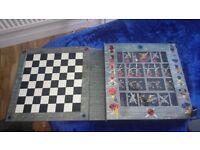 2006 Lego Viking Chess Set.