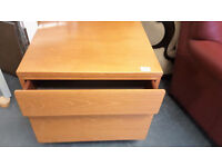 Retro Beaver and Tapley solid 2 draw chest