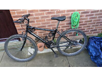 Raleigh Mountain Bike, Used Condition.