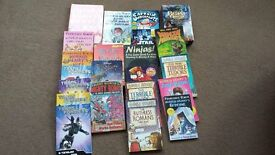 Selection of books in good condition for boys