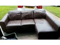 Bargain corner sofa