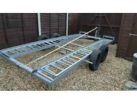 Twin Axle Car Recovery Trailer/ Transporter