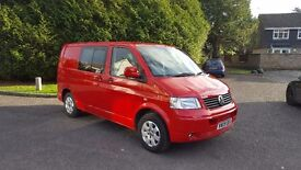 VW T5 FACTORY FITTED KOMBI, GOOD CONDITION, HIGH SPECIFICATION