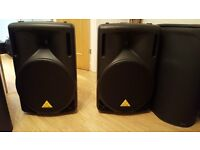 Behringer Eurolive B215 Speakers (spares or repairs)