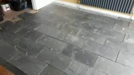 Natural slate tiles 600x300mm