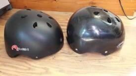 Bmx bicycle skate rollerskaters helmet