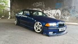 E36 wide arches air bag air ride