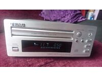 Silver Teac PD-H300 Micro Size CD Compact Disc Player Small Seperates Hi-Fi Unit