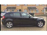BMW 1 Series 116i 2005 plate 51k miles BLACK £3990