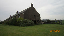 cottage to rent just outside village of St Cyrus