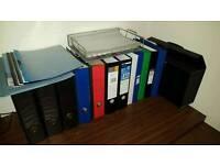 Various Folders and Organisers
