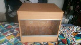 *SOLD* Vivarium £30 with Habistat, Microclimate and heat lamp and pad