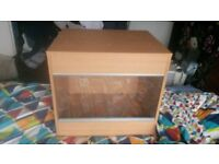 Vivarium £30 with Habistat, Microclimate and heat lamp and pad