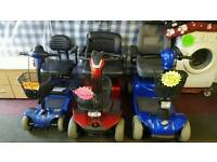 Mobility Scooters brand new batteries fully serviced