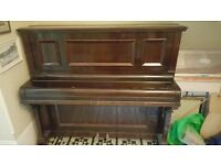 PIANO FOR FREE - GOOD QUALITY O/S - FROM HOUSE CLEARANCE - FREE REE FREE