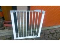 Baby safety stair gate door