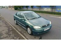 2001 Vauxhall Astra 1.6 LS 5 Door - MOT Sept 2017 - Part Service History - Air Con - CD Player