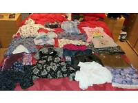 Girls bundle of clothes age/ size 6 - 7 ex con 24 items.