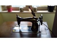 Vintage French Singer Sewing Machine