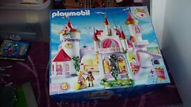Playmobil large castle.