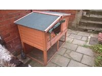 Large Windsor Rabbit Hutch and Cover