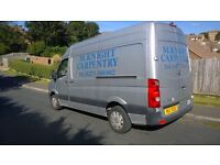 VW crafter 2006/56 MWB High Roof Silver low mileage