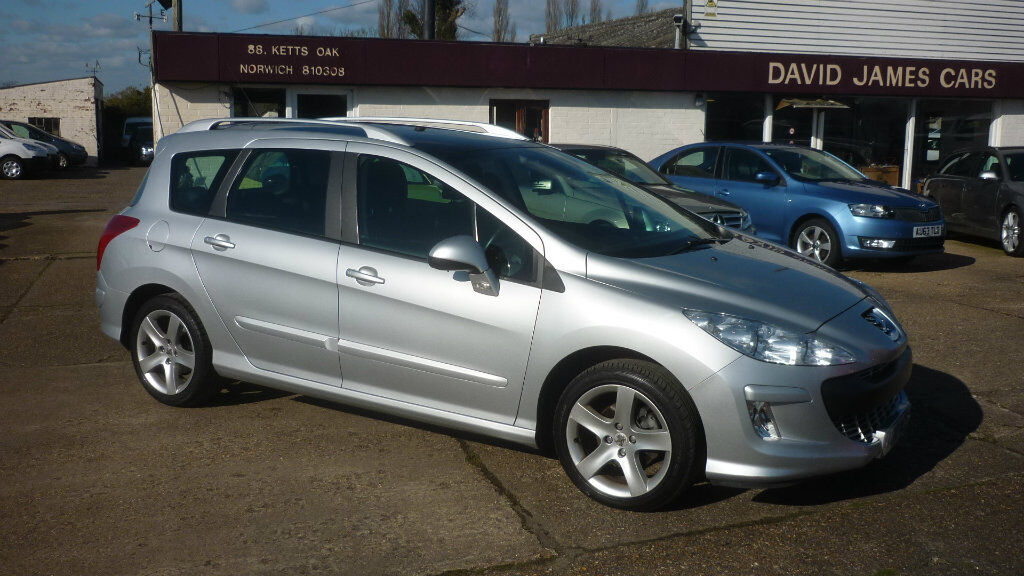 peugeot 308 sw 1 6 hdi fap sport 5dr silver 2010 in hethersett norfolk gumtree. Black Bedroom Furniture Sets. Home Design Ideas