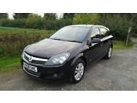 2008 VAUXHALL ASTRA 1.9 CDTI SXI, 5 DOOR IN BLACK, IN GOOD CONDITION, LONG MOT