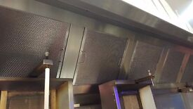 Regal brand stainless steel canopy & extraction fan. !!!!!