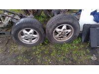 Land rover tdi alloy wheels