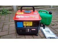 Clarke G720 Petrol Generator 720W 8857800 2HP Two stroke engine.