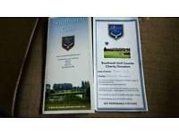 golf tickets