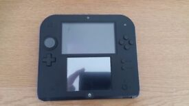 Nintendo 2DS Black and Blue Very Good Condition
