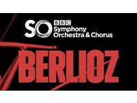Berlioz BBC Symphony Orchestra FRONT ROW Tickets at The Royal Albert Hall on Sunday