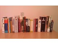 Mixed job lot of 80 books, not the usual rubbish! novels, military, garden etc