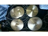 Zildjian Armand 4 Pack w/ Cymbal Bag