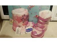 Peppa Pig Toddler Snow Boots size 6