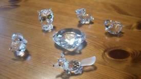 Swarovski crystal pieces