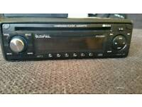 Car stereo with aux