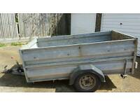 Galvanised steal trailer (8X4) for sale