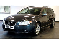 2008 58 VOLVO V70 2.4 D SE 5d 163 BHP, 8 SERVICE STAMPS, 1 OWNER, HALF LEATHER, 2 YEARS WARRANTY