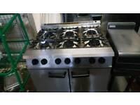6 burner cooker Commercial