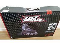 Inline Skates No Fear size 9