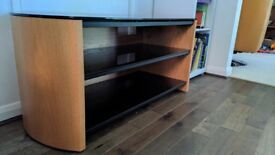 Alphason Finewoods TV stand in perfect condition for sale