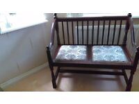 Old Charm ?? Hall / Window seat. excellent condition from smoke free home