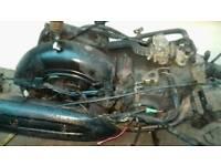 Yamaha vity engine