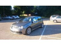 IMMACULATE MK5 GOLF R32 DSG 3DR 62K MILES!! LEATHER, AC, SAT NAV, WARRANTY + FVWSH/SPECIALIST