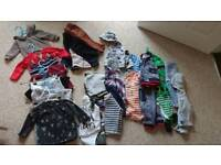 6-9 month baby bundle of clothes